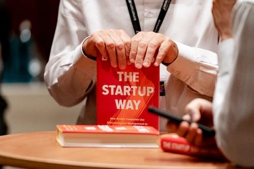 The Startup Way von Eric Ries auf dem #gms19