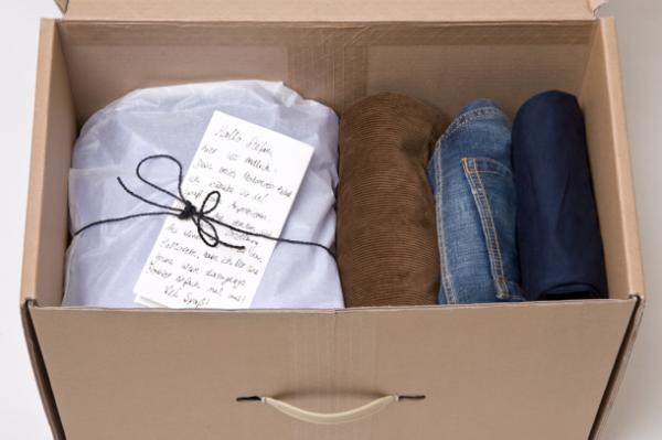 Modomoto: positive Bewertung des Kaufs durch persönlichen Brief