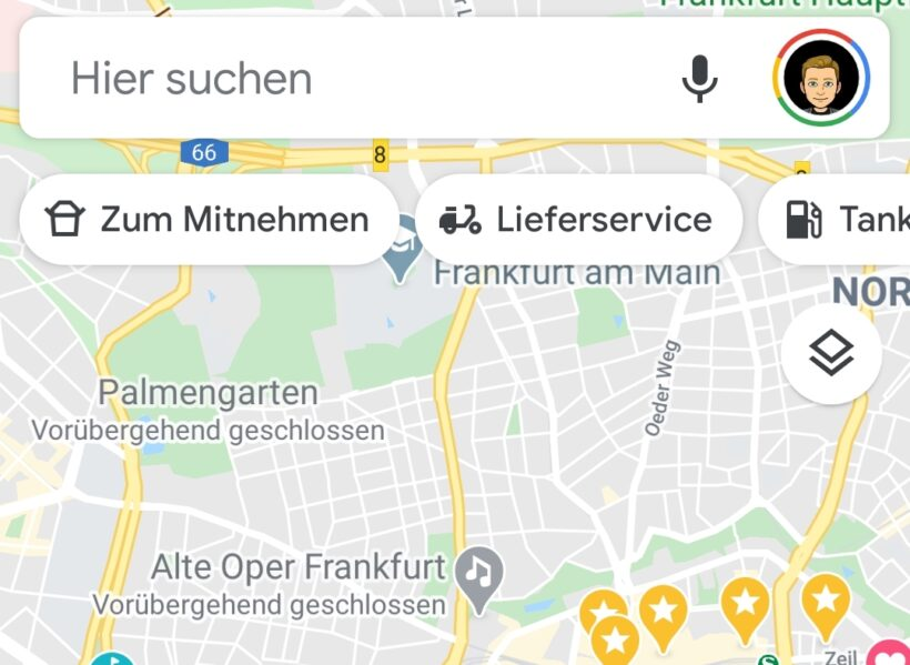 Illusion of Control bei Google Maps
