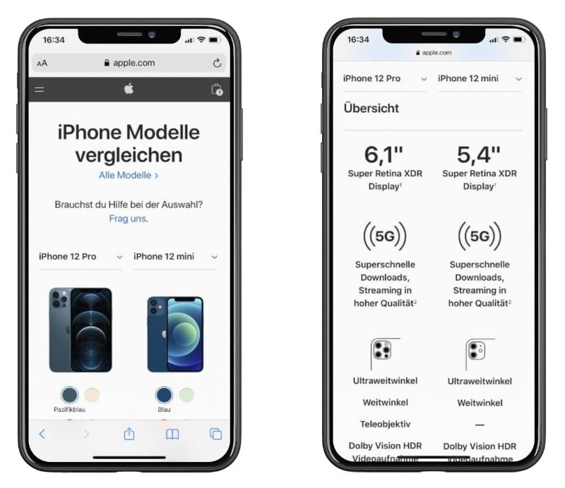 mobile-commerce-beispiel-tabellen-tipps-produkt-und-checkout