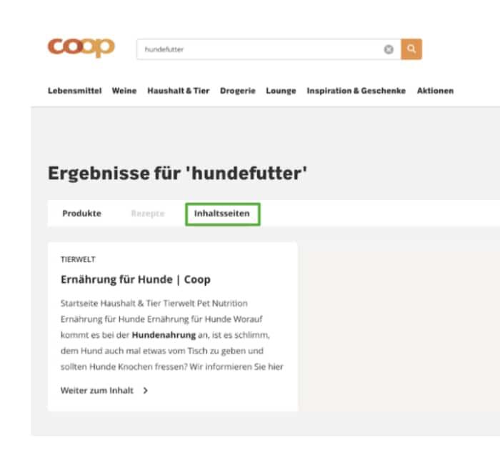 tipps-onsite-search-homepage-suchfunktion-produktsuche-beispiel-ergebnisse