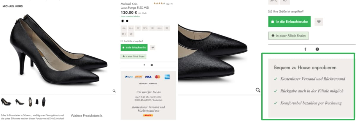 ux-writing-content-testing-beispiel-e-commerce-microcopy
